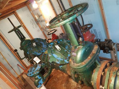 """Testing a 10"""" Inch Double Check Valve Backflow Assembly in Tacoma"""